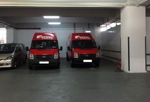 red box-車